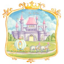 Pretty Princess Castle Wall Mural