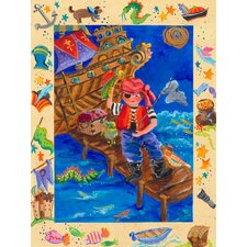 Pirate Adventurer Canvas Art