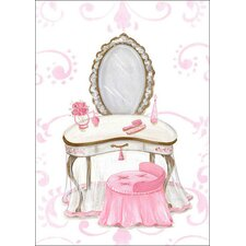 Little Princess Vanity by Kris Langenberg Canvas Art