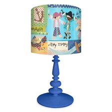 "It's Pirate's Life For Me 21"" H Table Lamp with Drum Shade"