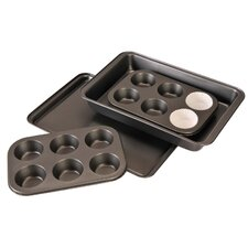 4 Piece Non-Stick Bakeware Set