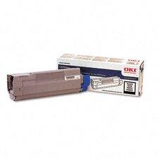 43324420 OEM Toner Cartridge, 6000 Page Yield, Black