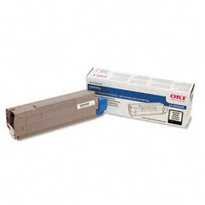 43324468 OEM Toner Cartridge, 4000 Page Yield, Cyan