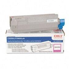 43324402 OEM Toner Cartridge, 5000 Page Yield, Magenta