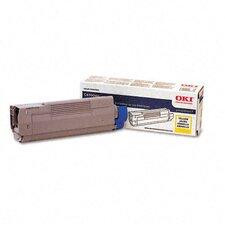 43324417 OEM Toner Cartridge, 5000 Page Yield, Yellow