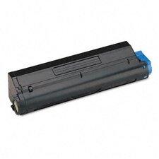 43502001 OEM Toner Cartridge, 7000 Page Yield, Black