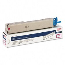 43459302 OEM Toner Cartridge, 2000 Page Yield, Magenta