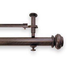 Icon Adjustable Double Curtain Rod