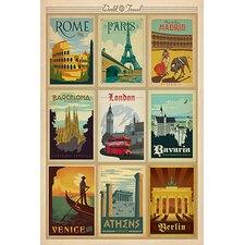 'Europe Collection' by Anderson Design Vintage Advertisement