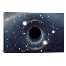 """""""Black Hole MAXI Absorbing a Star"""" Photographic Print on Wrapped Canvas"""