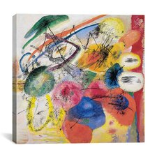 Black Lines Wall Art on Canvas by Wassily Kandinsky Prints