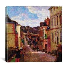"""""""A Suburban Street, 1884"""" Canvas Wall Art by Paul Gauguin"""