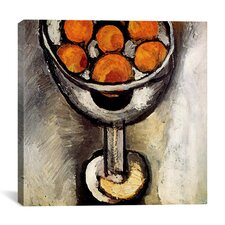 """""""A Vase with Oranges"""" Canvas Wall Art by Henri-Matisse"""