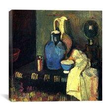 """""""Blue Pitcher (1901)"""" Canvas Wall Art by Henri Matisse"""
