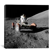 Apollo 17 Lunar Rover (1972) Canvas Wall Art