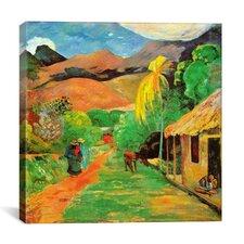 """Chemin a Papeete"" Canvas Wall Art by Paul Gauguin"