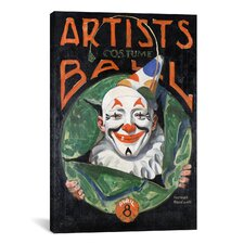 'Artists Costumer Ball' by Norman Rockwell Vintage Advertisment on Canvas