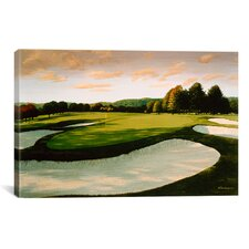 Golf Course 8 by William Vanderdasson Painting Print on Canvas