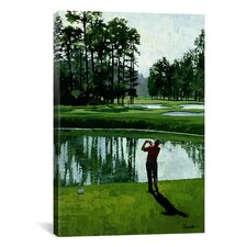 'Golf Course 9' by William Vanderdasson Painting Print on Canvas