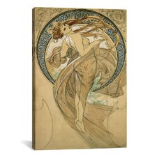 'Dance' by Alphonse Mucha Painting Print on Canvas