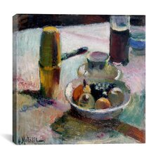 """""""Fruit and Coffeepot (1898)"""" Canvas Wall Art by Henri Matisse"""