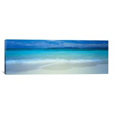 Panoramic Clouds over an Ocean, Great Barrier Reef, Queensland, Australia Photographic Print on Canvas