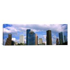 Panoramic Houston, Texas Photographic Print on Canvas