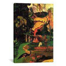 'Matamoe' by Paul Gauguin Painting Print on Canvas