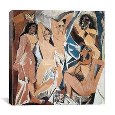 """""""Les Demoiselles d'Avignon"""" Canvas Wall Art by Pablo Picasso"""