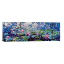 'Nympheas' by Claude Monet Painting Print on Canvas