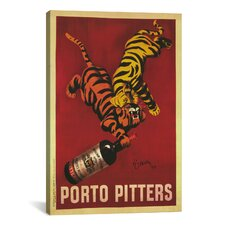 Porto Pitters Vintage  Canvas Print Wall Art