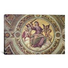 'Stanza Della Segnatura' by Raphael Painting Print on Canvas