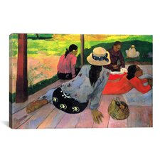 'The Siesta' by Paul Gauguin Painting Print on Canvas