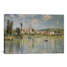 """Vetheuil in Summer 1880"" by Claude Monet Painting Print on Canvas"