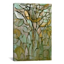 'Tree, 1912' by Piet Mondrian Graphic Art on Wrapped Canvas