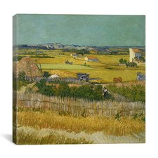 """The Harvest"" Canvas Wall Art by Vincent Van Gogh"