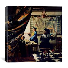 """""""The Art of Painting"""" Canvas Wall Art by Johannes Vermeer"""