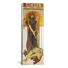 Medee 1898 Canvas Wall Art by Alphonse Mucha