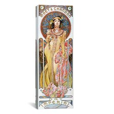 Moët and Chandon Dry Imperial 1899 Canvas Wall Art by Alphonse Mucha