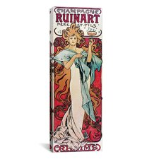 Champagne Ruinart, 1896 Canvas Print Wall Art