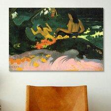 'Fatata Te Miti the Sea 1892' by Paul Gauguin Painting Print on Canvas