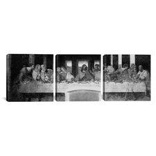Leonardo da Vinci The Last Supper II 3 Piece on Wrapped Canvas Set