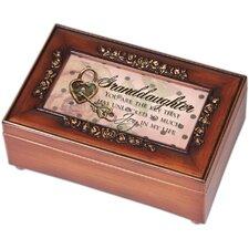 Petite Rose Granddaughter Music Box