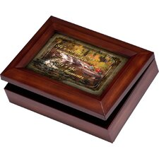 Wildlife Digital Fisherman/Boat Music Jewelry Box