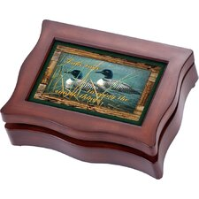 Wildlife Digital Ducks Music Jewelry Box