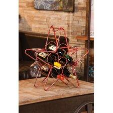 Rustic Star 5 Bottle Wine Rack