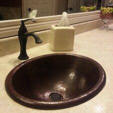 Cordoba Drop-In Copper Bathroom Sink