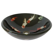 Fiche Glass Vessel Bathroom Sink
