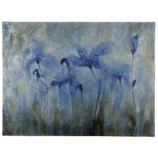Flowers Painting on Wrapped Canvas