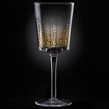 Gold Luster Red Wine Goblet (Set of 4)